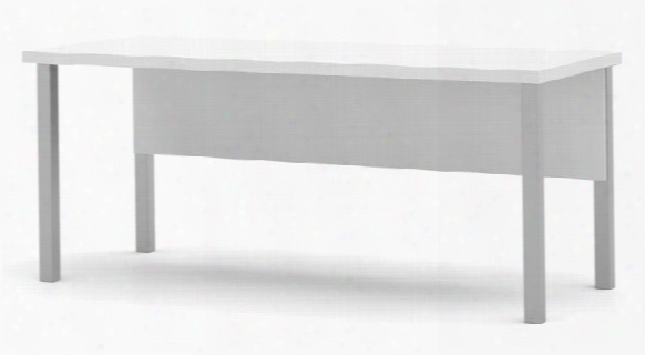 Table With Metal Legs By Bestar