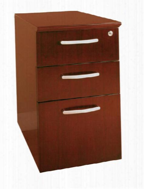 Three Drawer Pedestal By Mayline Office Furniture
