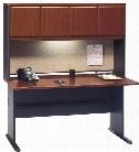 "60"" Desk with Hutch by Bush"