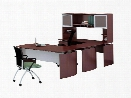 """63"""" U Shaped Desk with Hutch by Mayline Office Furniture"""