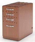 Credenza Pencil/Box/Box/File Pedestal by Mayline Office Furniture