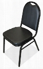 Round Back Stacker Chair by Office Source