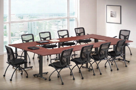 "Training Tables 72"" X 24"" (4) And 36""x 24"" (2) By Office Source"