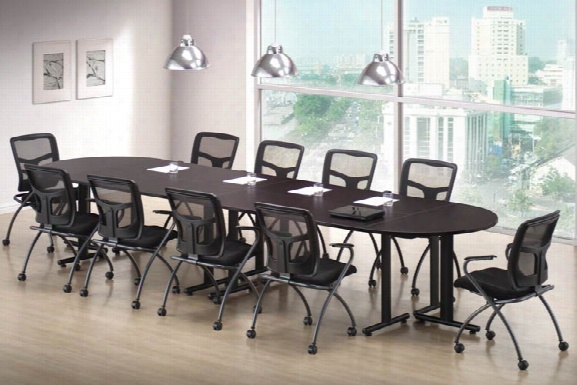 "Training Tables - Rectangular 66"" X 30"" (4), Half Round 60"" X 30"" (2) By Office Source"