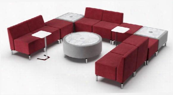 U Shape Configuration Lounge By Woodstock