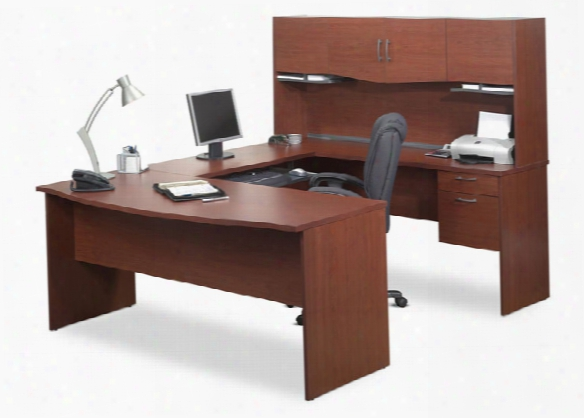 U Shaped Computer Desk By Bestar