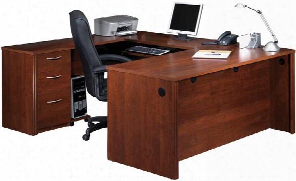 U Shaped Desk By Bestar