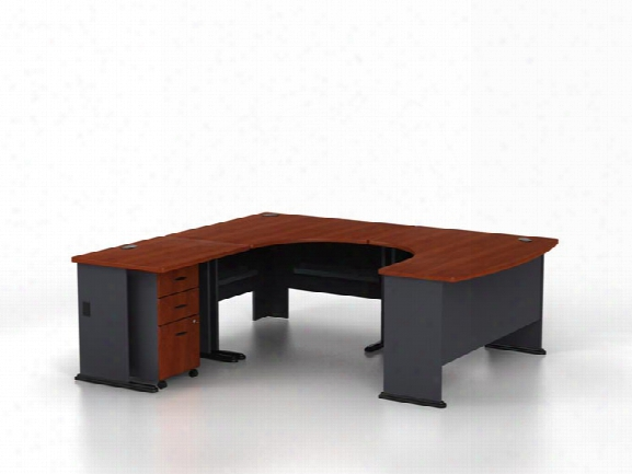 U Shaped Desk By Bush