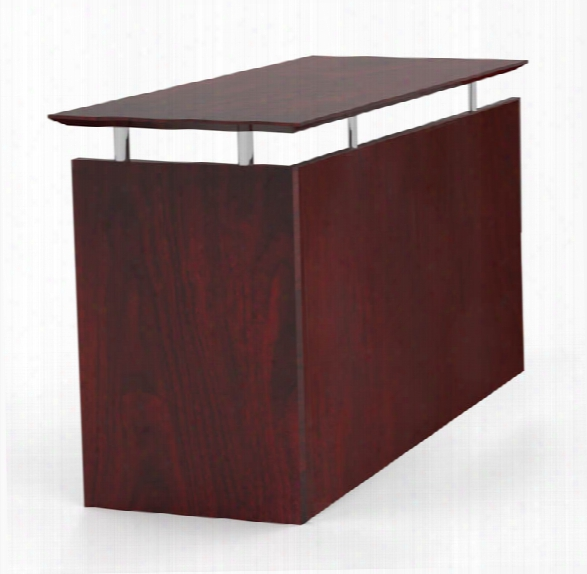Universal Straight Return By Mayline Office Furniture