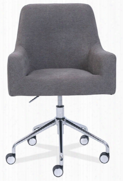 Upholstered Swivel Chair By Office Source