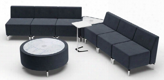 V Shape Configuration Lounge By Woodstock