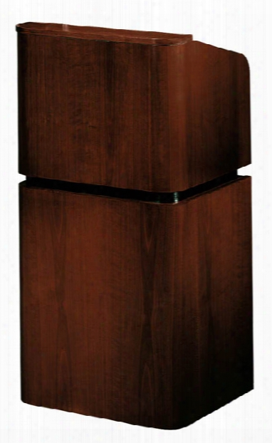 Veneer Contemporary Table Lectern And Base By Oklahoma Sound