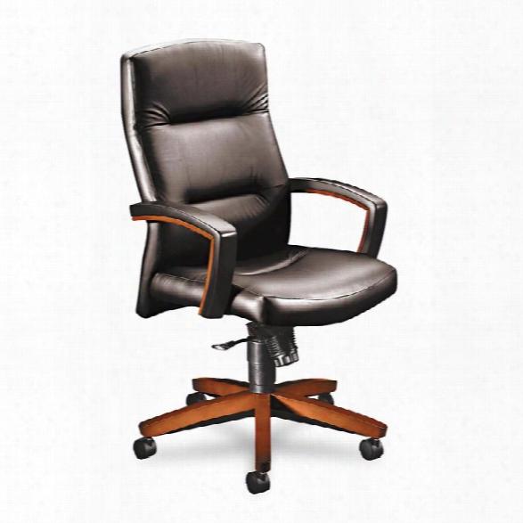 Vinyl High Back Executive Chair By Hon