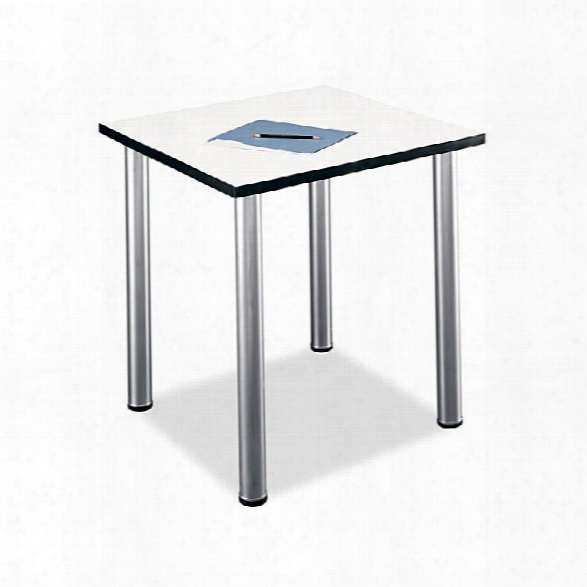 White Spectrum Square Conference Table By Bush