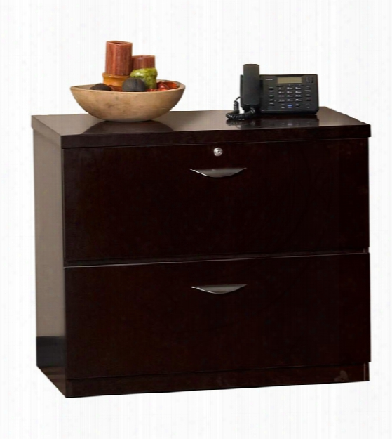 Wood Veneer 2 Drawer Lateral File By Mayline Office Furniture