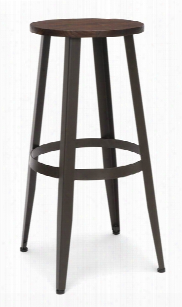 "Woodeen Stool 30"" By Ofm"