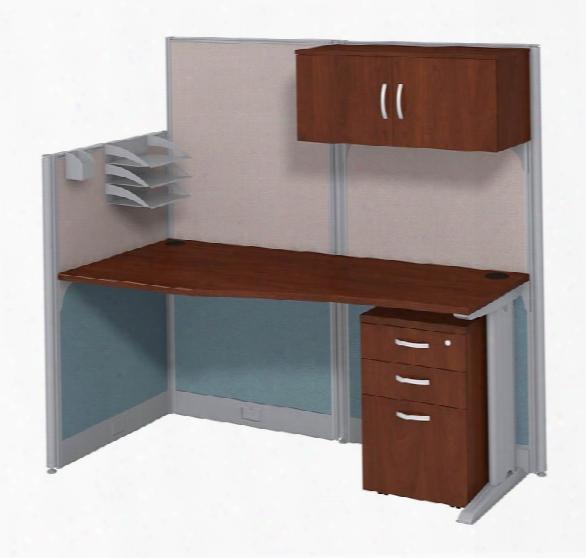 Workstation With Storage By Bush