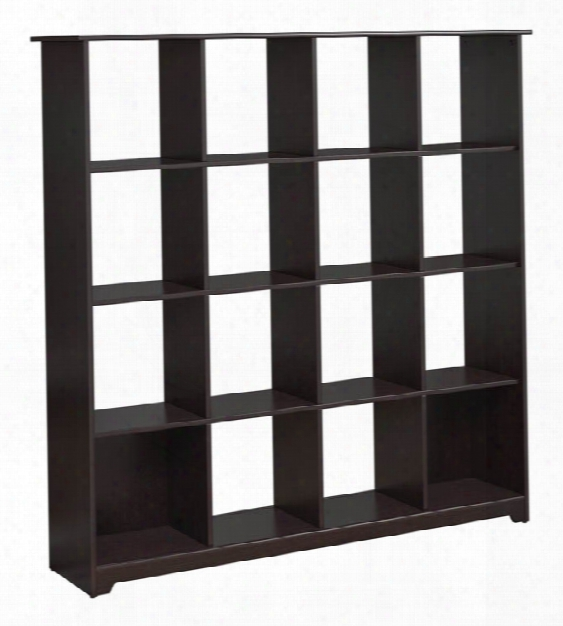 16 Cube Bookcase By Bush