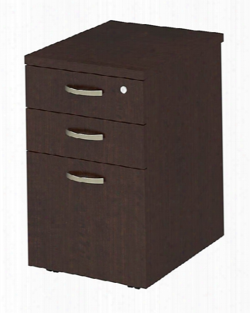 "16""w Mobile File Cabinet By Bush"