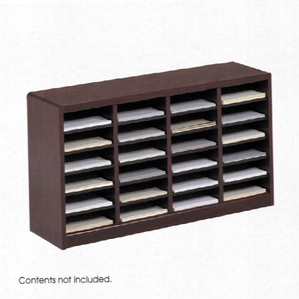 24 Compartment Literature Organizer By Safco Office Furniture