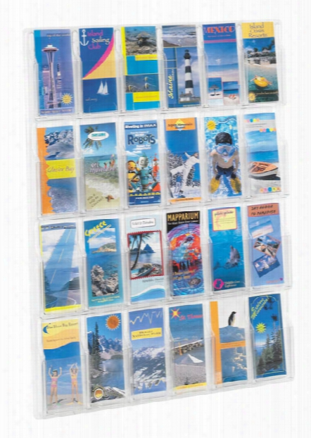 24 Pamphlet Display By Safco Office Furniture