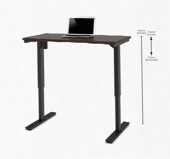 "24"" X 48"" Electric Height-adjustable Table By Bestar"