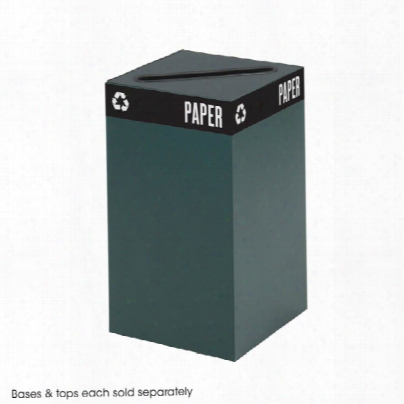 "26"" High Waste Receptacle For Recycling By Safco Office Furniture"
