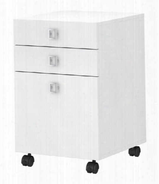 3 Drawer Mobile File Cabinet By Bush
