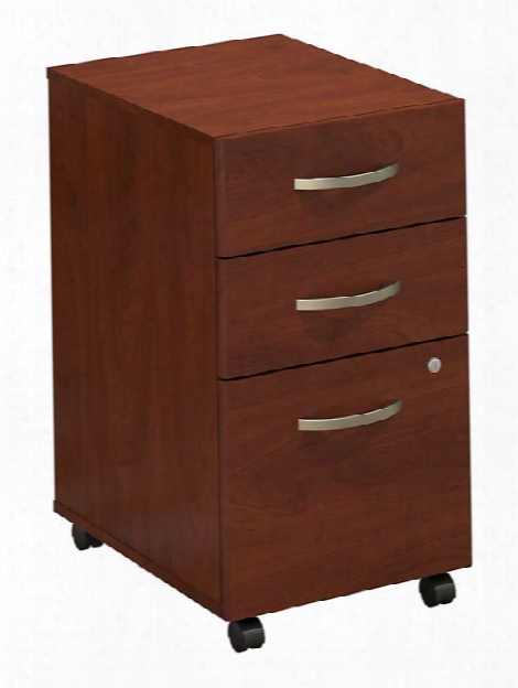 3 Drawer Mobile Pedestal By Bush
