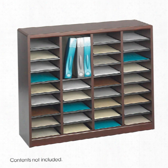 36 Compartment Literature Organizer By Safco Office Furniture