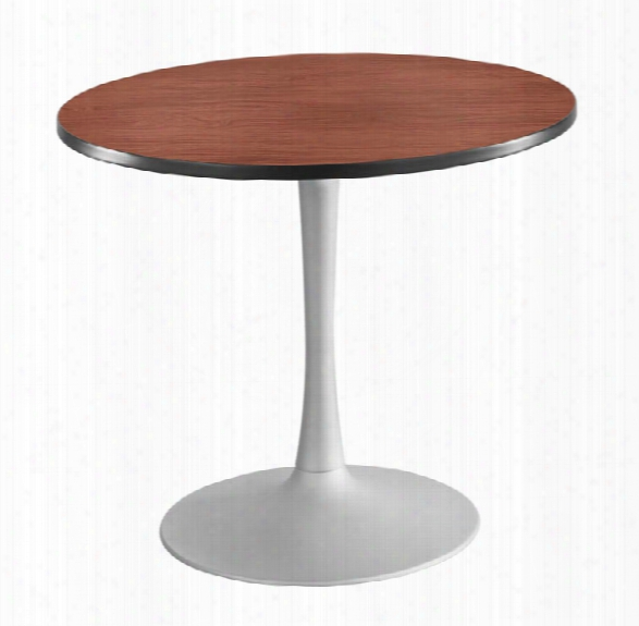 "36"" Round, Trumpet Base, Sitting Height Table By Safco Office Furniture"