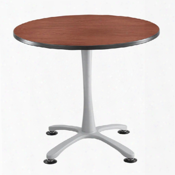 "36"" Round, X Base, Sitting Height Table By Safco Office Furniture"
