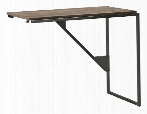 "37""w Industrial Desk Return By Bush"