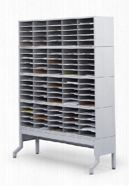 4 Tier Mail Sorter Station By Safco Office Furniture