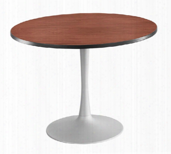 "42"" Round, Trumpet Base, Sitting Height Table By Safco Offie Furniture"