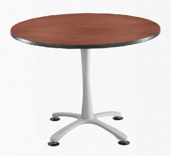 "42"" Round, X Base, Sitting Height Table By Safco Office Furniture"