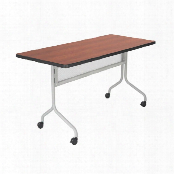 "48"" X 24"" Mobile Training Table By Safco Office Furniture"