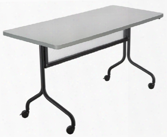 """48"""" X 24"""" Mobile Training Table, Rectangle Top By Safco Office Furniture"""