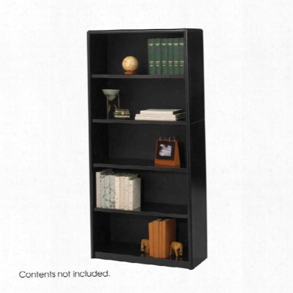 5-shelf Valuemateã'â® Economy Bookcase By Safco Office Furniture