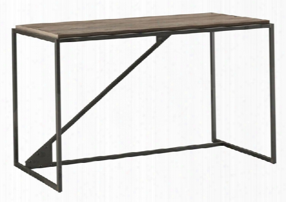 "50""w Industrial Desk By Bush"