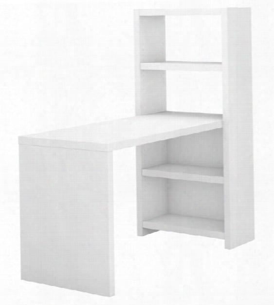 """56""""w Bookcase Desk By Bush"""