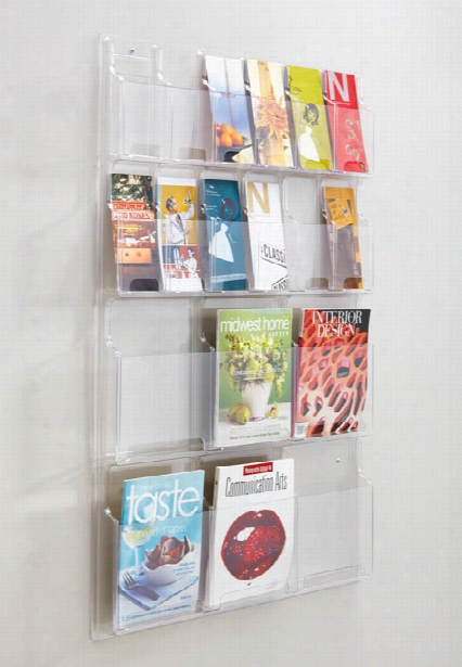 6 Magazine And 12 Pamphlet Display By Safco Office Furniture