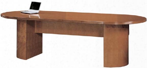 6' Wood Veneer Racetrack Conference Table By Cherryman Furniture