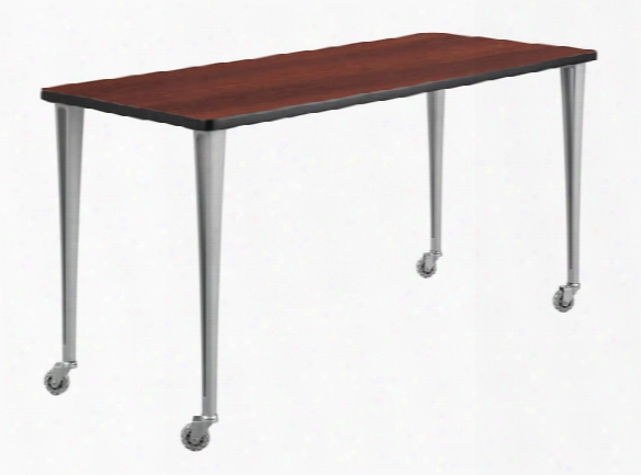 "60"" X 24"" Mobile Table With Casters By Safco Office Furniture"