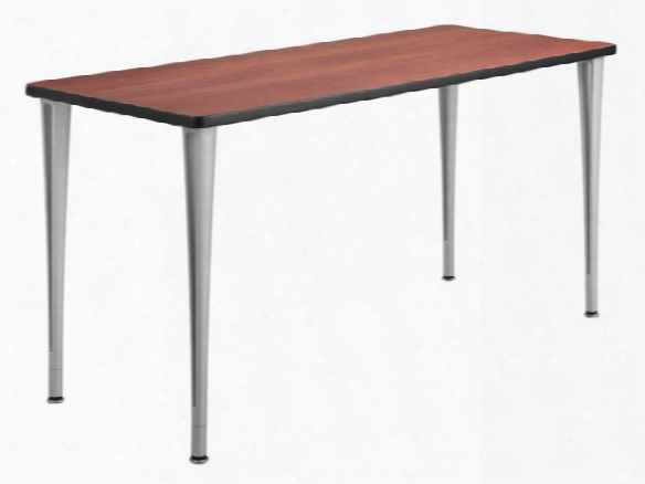 """60"""" X 24"""" Mobile Table With Glides By Safco Office Furniture"""