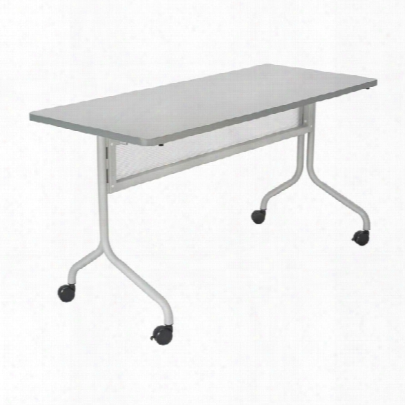 "60"" X 24"" Mobile Training Table, Rectangle By Safco Office Furniture"