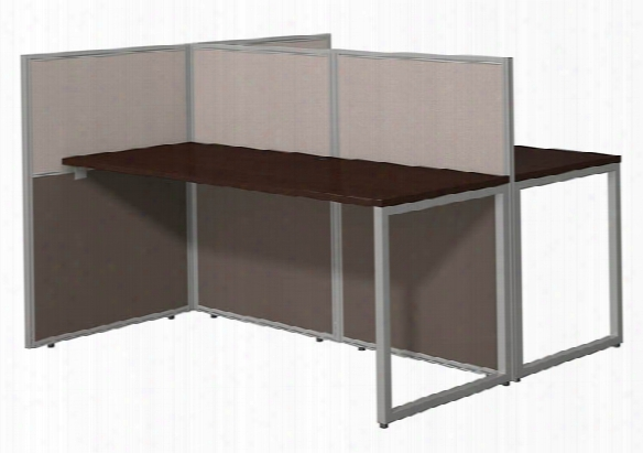 "60""w 2 Person Straight Desk Open Office By Bush"