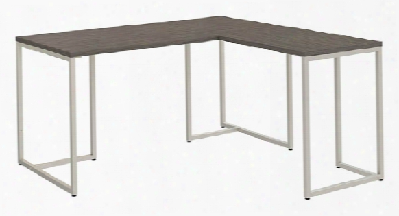 "60""w L Shaped Desk With 30""w Return By Bush"