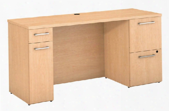 "60""w X 22""d Office Desk With Storage By Bush"