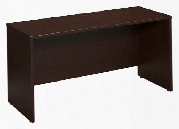 "60""w X 24""d Desk/credenza/return By Bush"